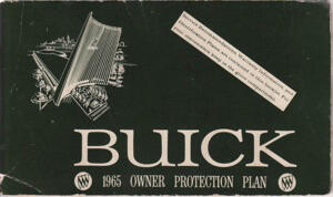 Buick Owner Protection Plan