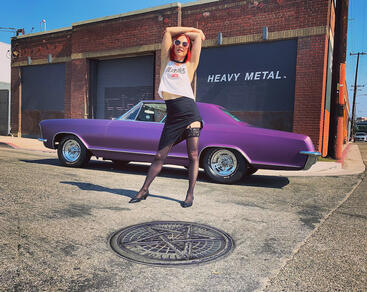 DTLA Art's District 1965 Buick Riviera Tonya Kay